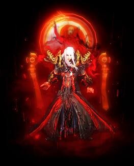 暗黑风格灵魂收割战甲传奇衣服素材