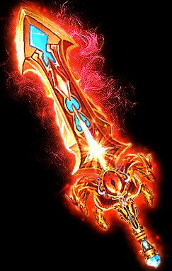 四龙目皇室巨剑武器素材