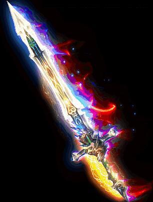 明光电闪巨剑传奇武器素材