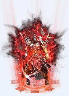阎罗鬼舞战甲巨锤传奇衣服武器素材
