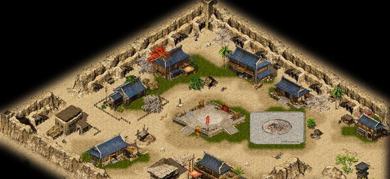全新沙巴克和盟重土城地图素材