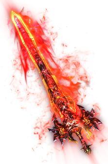 魔王之气怒火巨剑传奇武器素材