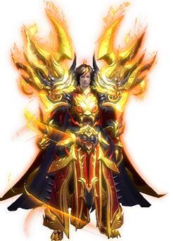 传奇5黄金战神甲传奇衣服素材