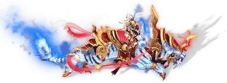 黄金战甲剑齿虎传奇坐骑素材下载