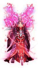 紫玉修罗王战袍传奇时装素材