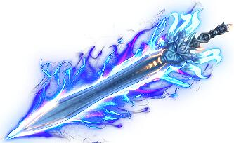 蓝光慢垫巨剑传奇武器素材