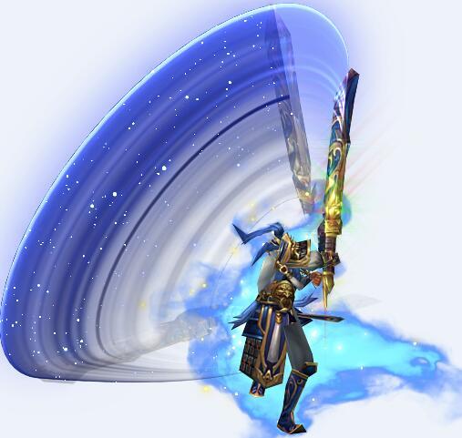 天神战将配巨剑传奇时装素材下载