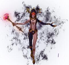 鬼吹灯的女主角形象一体时装素材