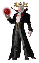 鬼吹灯中吸血鬼王的一体时装