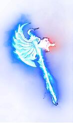 蓝色千鸟之斧武器素材