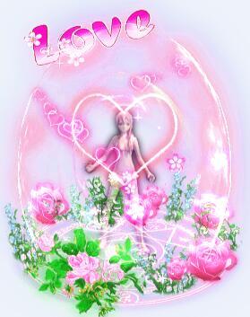 玫瑰花女孩光环衣服素材+长剑武器