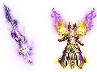 吟龙之剑传奇武素材武器+魂战甲衣服素材