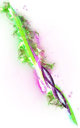 绿光光头龟仙人衣服+武器分体素材