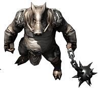 新白色野猪王怪物素材