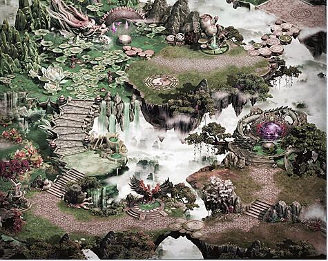 地仙宫葫芦岛地图素材