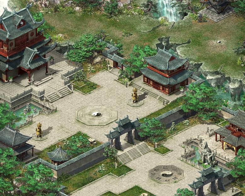 安神道馆传奇地图