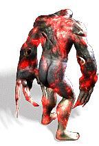 红光岩浆尸魔兽传奇版本素材